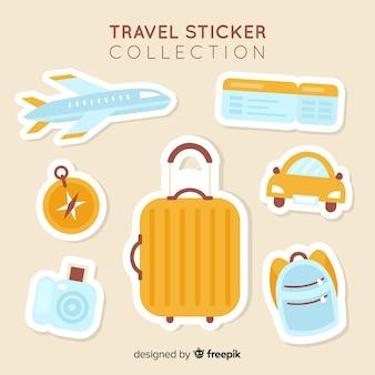 旅行ステッカーコレクション