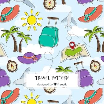 Шаблон путешествия