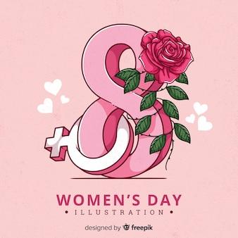 幸せな女性の日