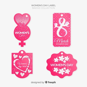 Коллекции женских этикеток