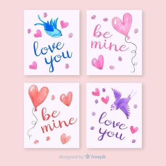 バレンタインカードコレクション
