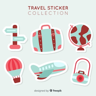 二次元旅行ステッカーコレクション