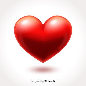 Большое сердце фон