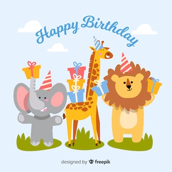 動物の誕生日