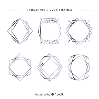 Коллекция серебряная рамка