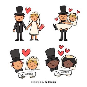結婚式のカップルコレクション