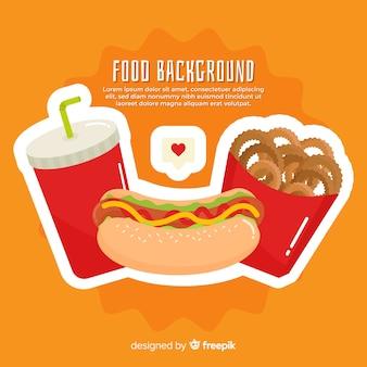 Пищевой фон