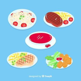 おいしい料理皿コレクション