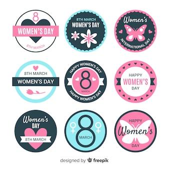 女性の日バッジコレクション