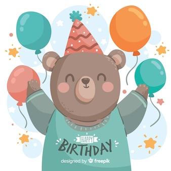 誕生日のクマ