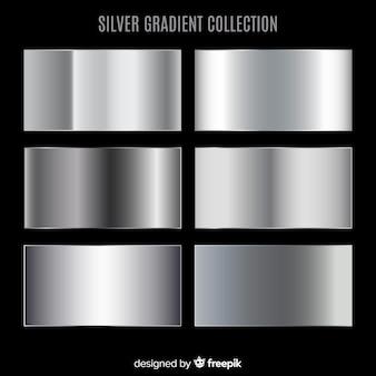 銀グラデーションコレクション