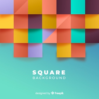 正方形の背景
