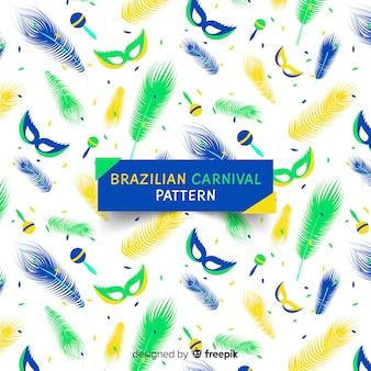 Плоский бразильский карнавал