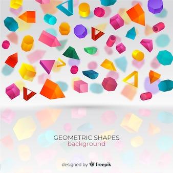 Геометрические фигуры фон
