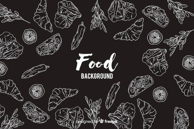 黒板食品の背景