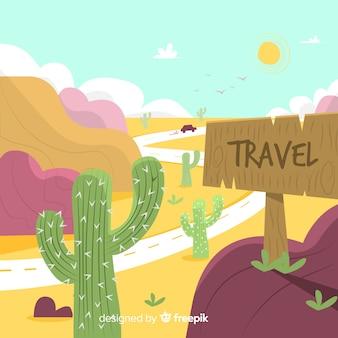 旅行の背景