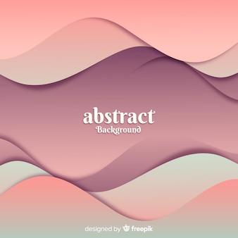 Волнистый абстрактный фон
