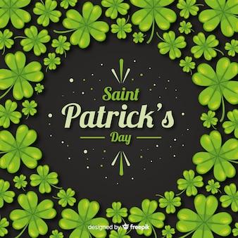 聖パトリックの日の背景。