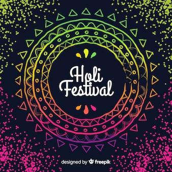 フラットホーリー祭の背景