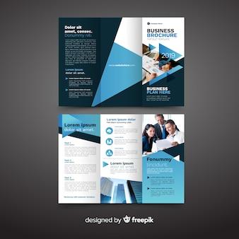 Бизнес тройная брошюра