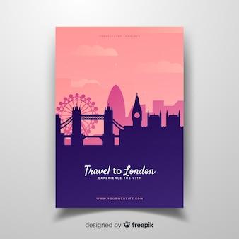 ロンドンのチラシ