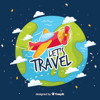 旅行をしましょう