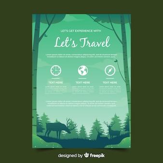 Флаер путешествия