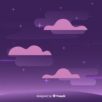 Звездная ночь фон неба