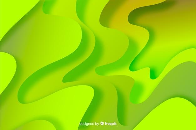 Абстрактный волнистый фон