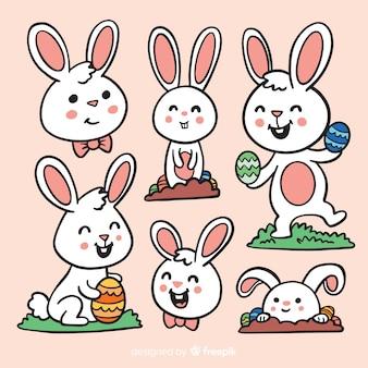 Коллекция пасхального кролика