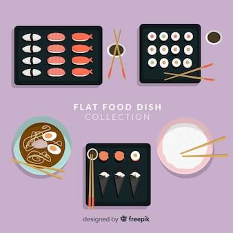 Набор блюд японской кухни