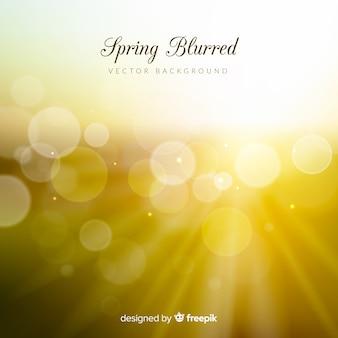 Размытый весенний фон