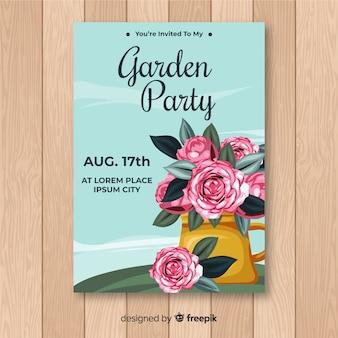 ガーデンパーティーチラシ