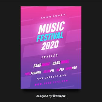 音楽祭ポスター
