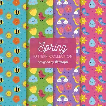 Коллекция весны шаблон