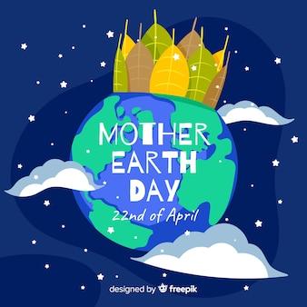 母なる地球の日の背景