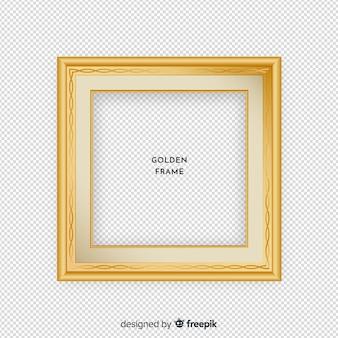 二乗リアルなゴールデンフレーム