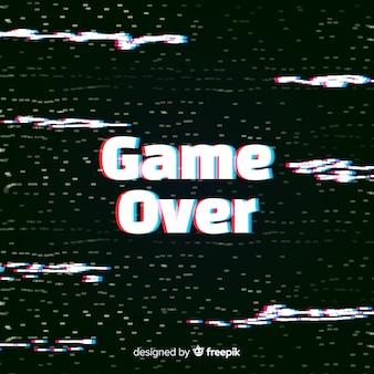 背景のグリッチゲーム