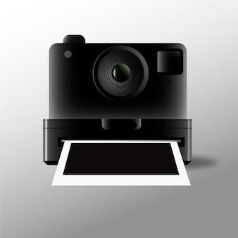 ポラロイドカメラと写真