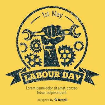 Ручной обращается фон день труда