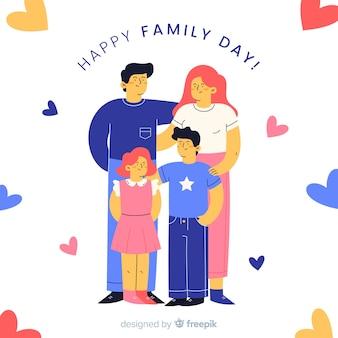 幸せな家族の日