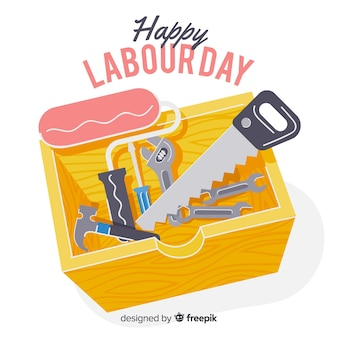 幸せな労働者の日