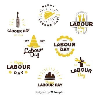 Коллекция лейбла дня труда