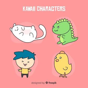 手描きかわいいキャラクターコレクション