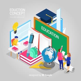 等尺性教育の背景