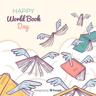 Ручной обращается всемирный день книги фон