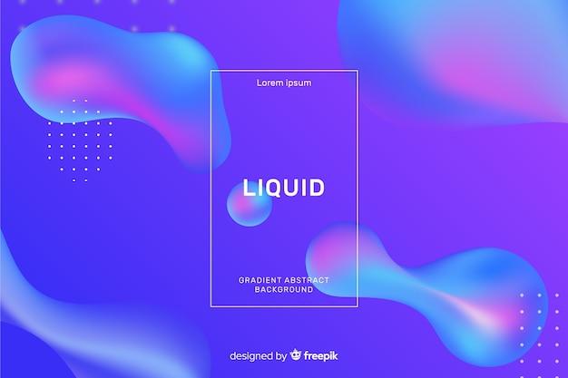 リアルな液体の背景