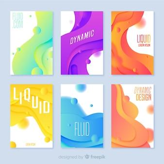 Пакет для плакатов с жидкими формами