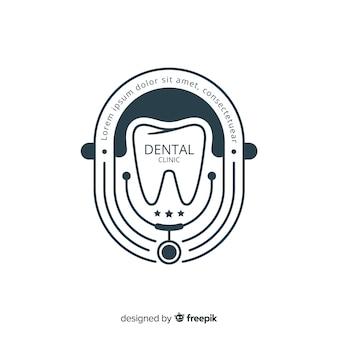 フラット歯科医院ロゴタイプ