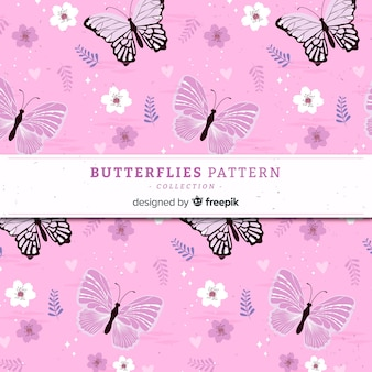 Плоская бабочка